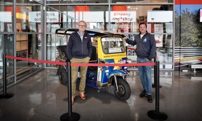 Our record Tuk Tuk is now in the Nurburgring museum