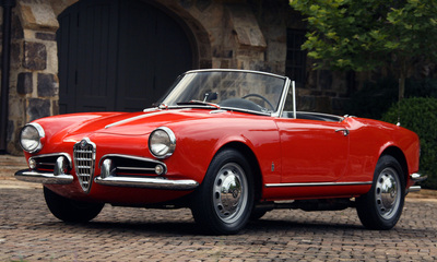 Why are so many Italian convertible cars called spider?