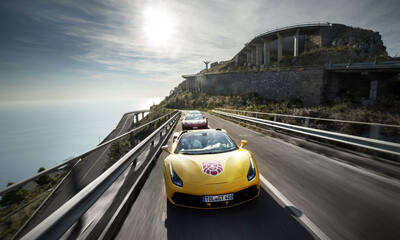 Here are the top twelve roads in Europe with a Ferrari or Lamborghini supercar