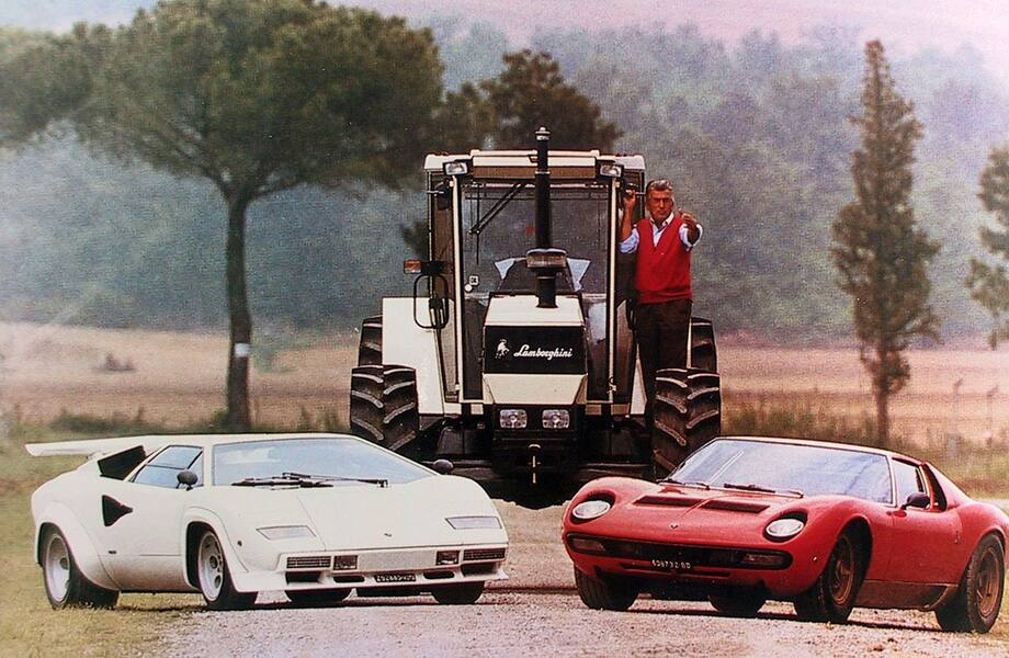 The epic story behind the Ferrari and Lamborghini rivalry