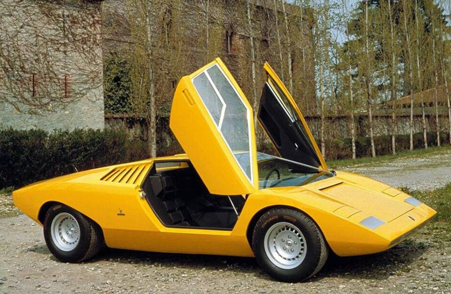 Happy Birthday to Lamborghini Countach - 50 years old this week