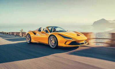 Celebrate with us on the Riviera with a Ferrari F8 Spider