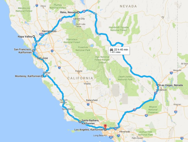 2200 Kilometers Of Beautiful Roads Like The Pacific Coast Highway And Insane Experiences Like Las Vegas Muscle Car Included