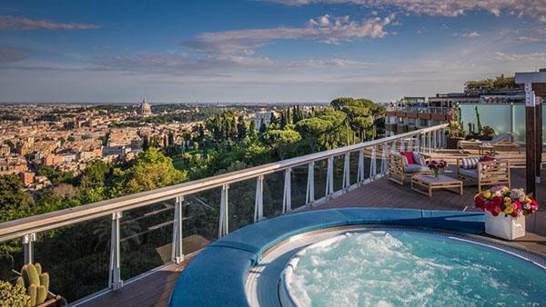 Awesome Hotel Cavalieri Milano Terrazza Pictures - Idee Arredamento ...