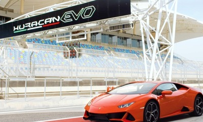 VIDEO: Peter became the drift king in the new Lamborghini Huracan EVO