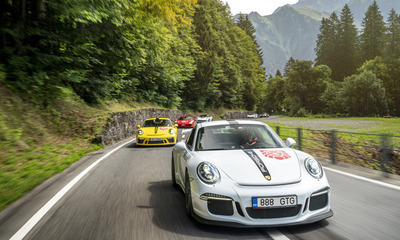 Special invitation: Nurburgring and Spa-Francorchamps with private tours of the Porsche and Mercedes factories in Stuttgart